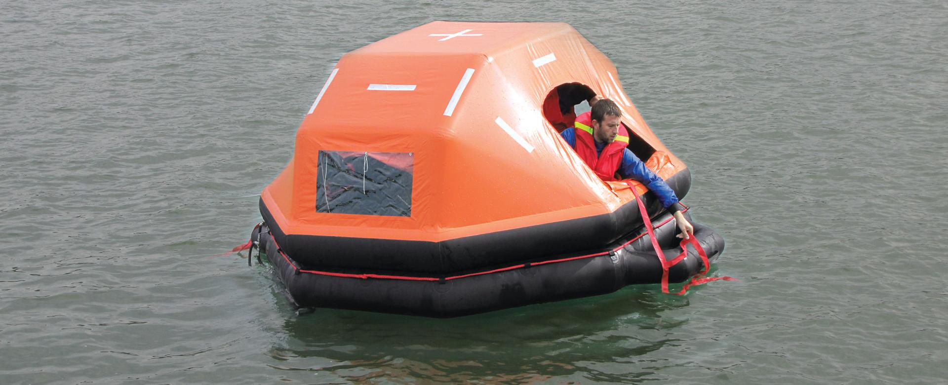 Life Raft Advance Boat